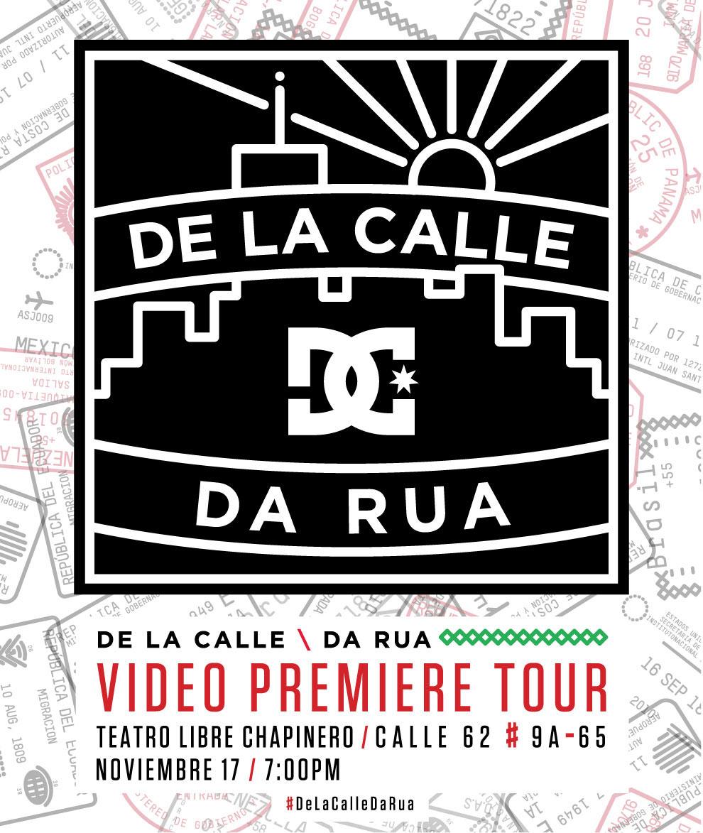 De La Calle / Da Rua - Video Premier y Demo en Bogotá