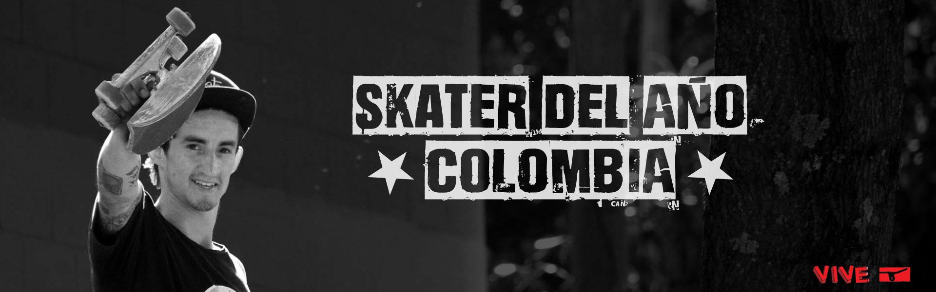 Felicitaciones Jose David Vélez - Skater del Año Colombia 2016