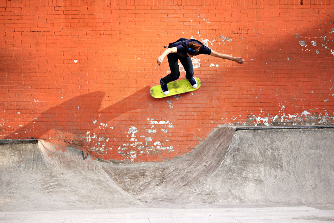 Ivan Rojas - Backside Wallride